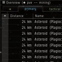 Mining preset